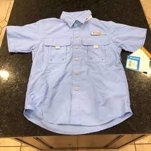Columbia youth shirt small NWT